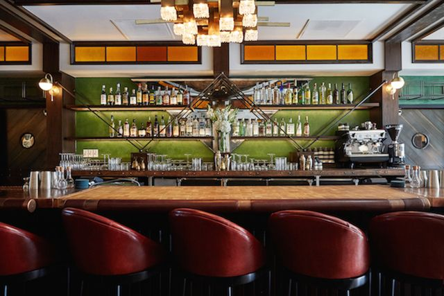 the bars name design cocktails and food serve as an homage to la