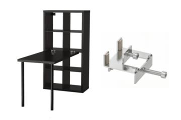 Help Kallax Desk Combination In Horizontal Position Ikea Hackers In 2020 Kallax Desk Ikea Kallax Desk Kallax Ikea