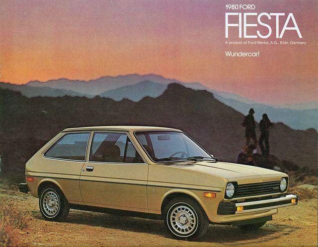 1980 Ford Fiesta Ford Motor Ford Fiesta Classic Cars