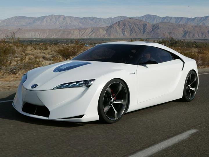 Toyota Concept Black Rims Concept Car Toyota Cars Toyota
