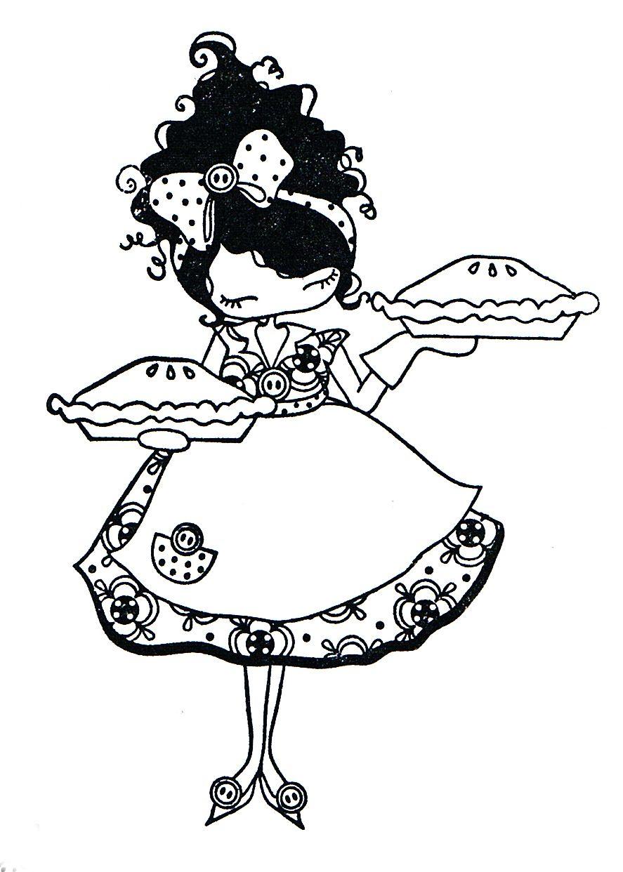 muñequitas lulú para colorear | Cinderella | Pinterest | Colorear ...