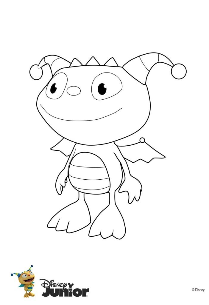 Henry Hugglemonster Minion Coloring Pages Mermaid Coloring Pages Bear Coloring Pages