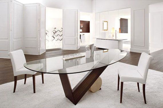 Oval Glass Dining Room Set Oval Glass Dining Room Table Oval Glass