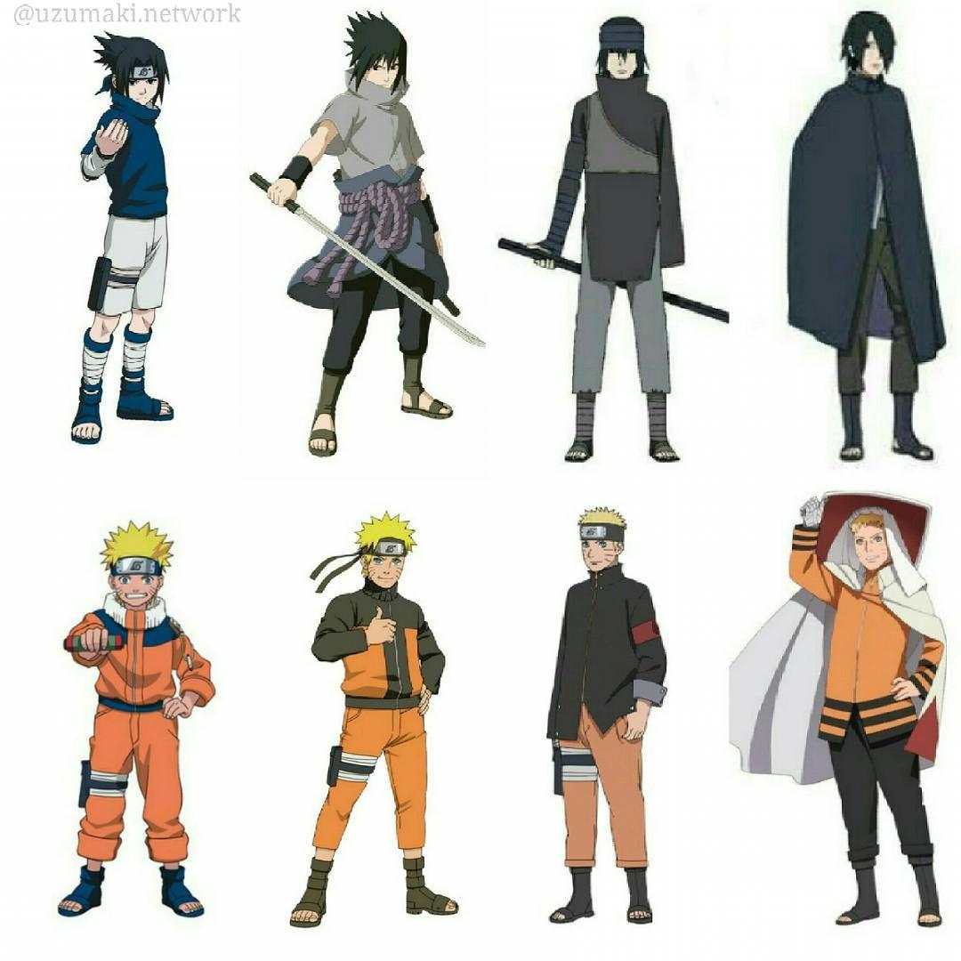 7000 Gambar Evolution Naruto HD Paling Baru Infobaru