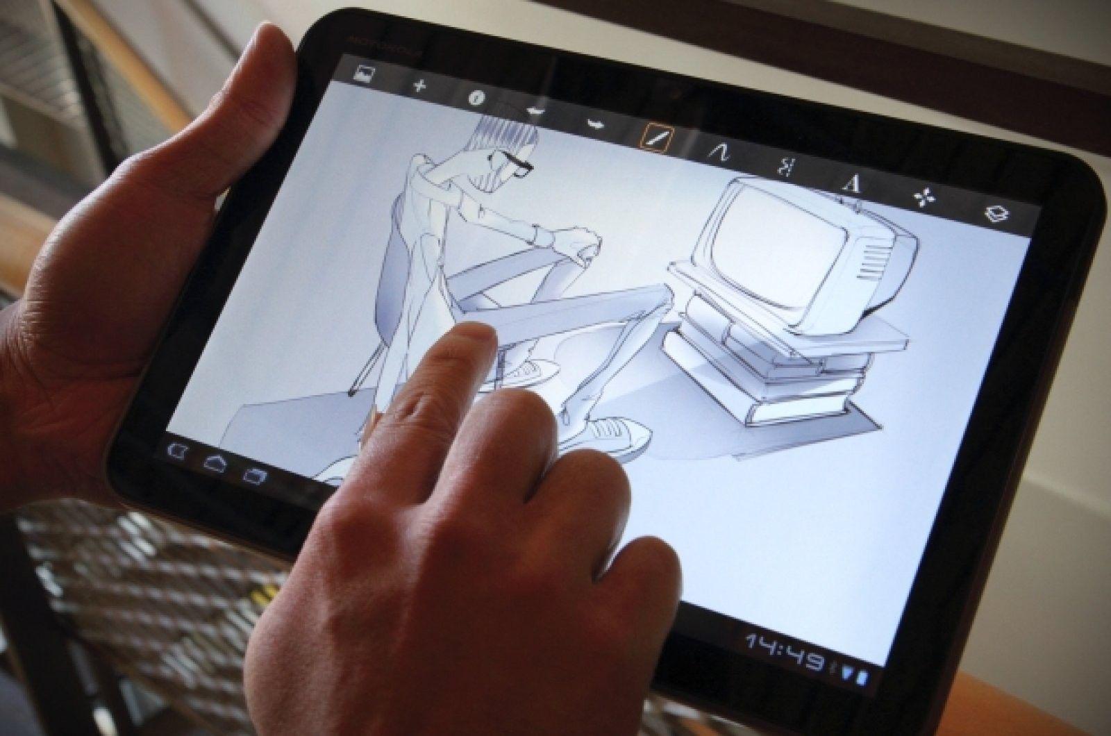 Sketchbook Aplicacion Para Dibujantes Profesionales Sketchbook Pro Android Apps