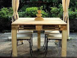 Tavolo Di Legno Per Esterno.Risultati Immagini Per Tavoli Da Giardino In Legno Fai Da Te