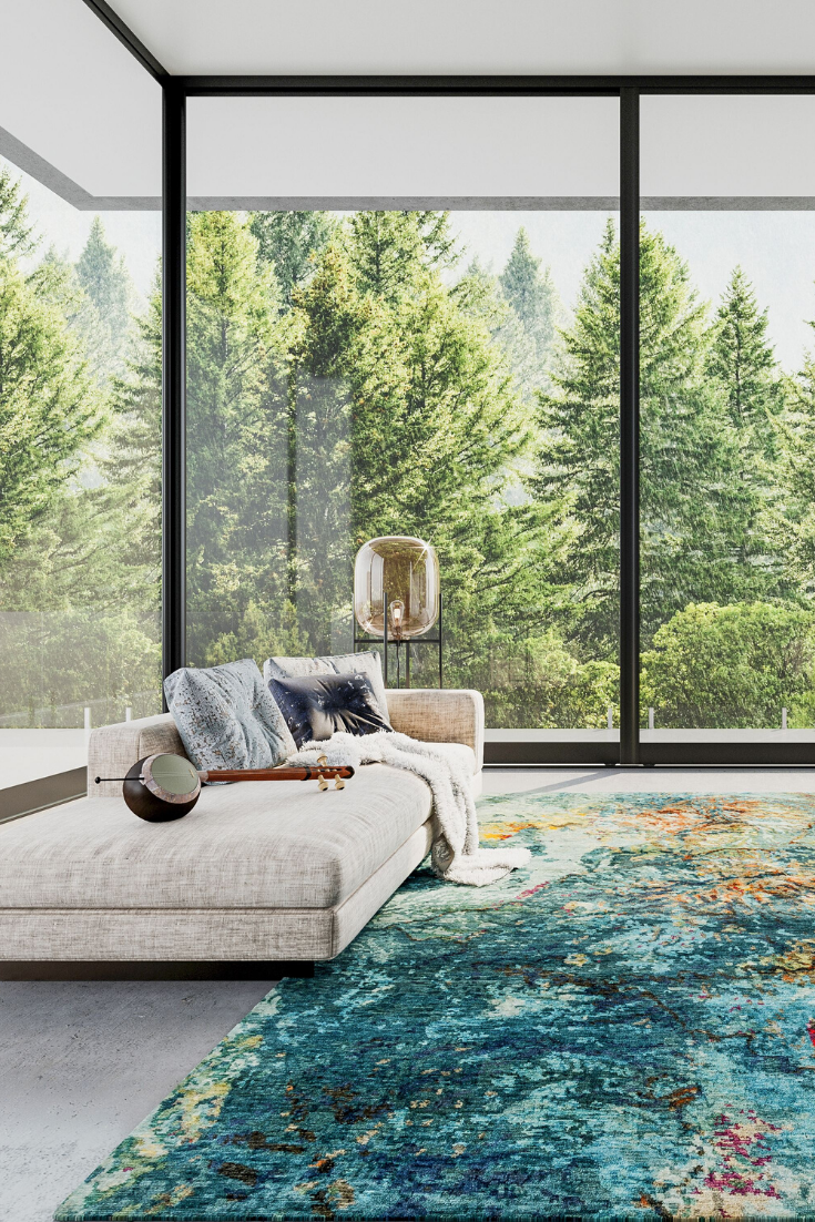 Modern Eco Interior In 2020 Luxury Area Rugs Living Room Carpet Rugs On Carpet