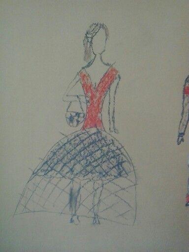 schets modeontwerpen kubv schets schetsen en modeontwerp