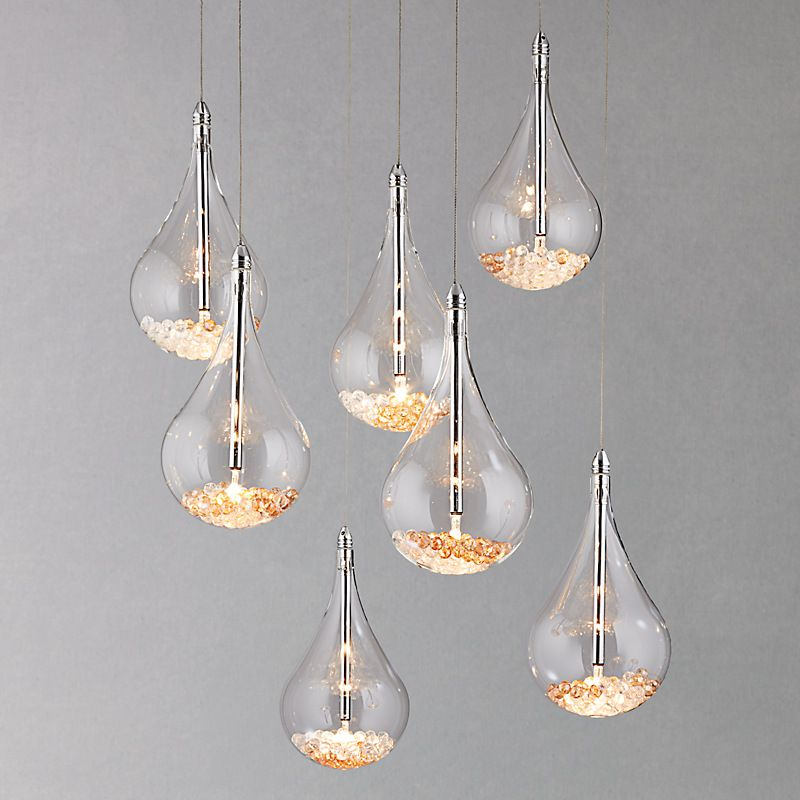Buy john lewis sebastian 7 light drop ceiling light online at john buy john lewis sebastian 7 light drop ceiling light online at john lewis mozeypictures Gallery