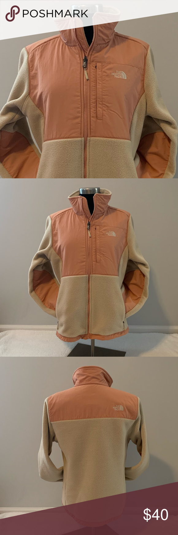 The Northface Jacket Size Medium In Excellent Condition Like A Peach And Tan Color Love This Jacket The Nort North Face Jacket Jackets For Women Clothes Design [ 1740 x 580 Pixel ]