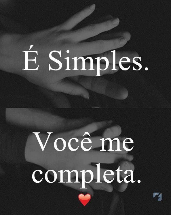 Simples Você me completa