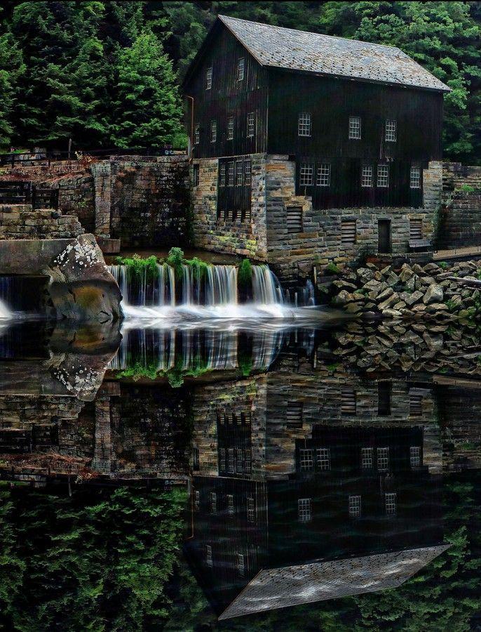mcconnells mill portersville  pennsylvania