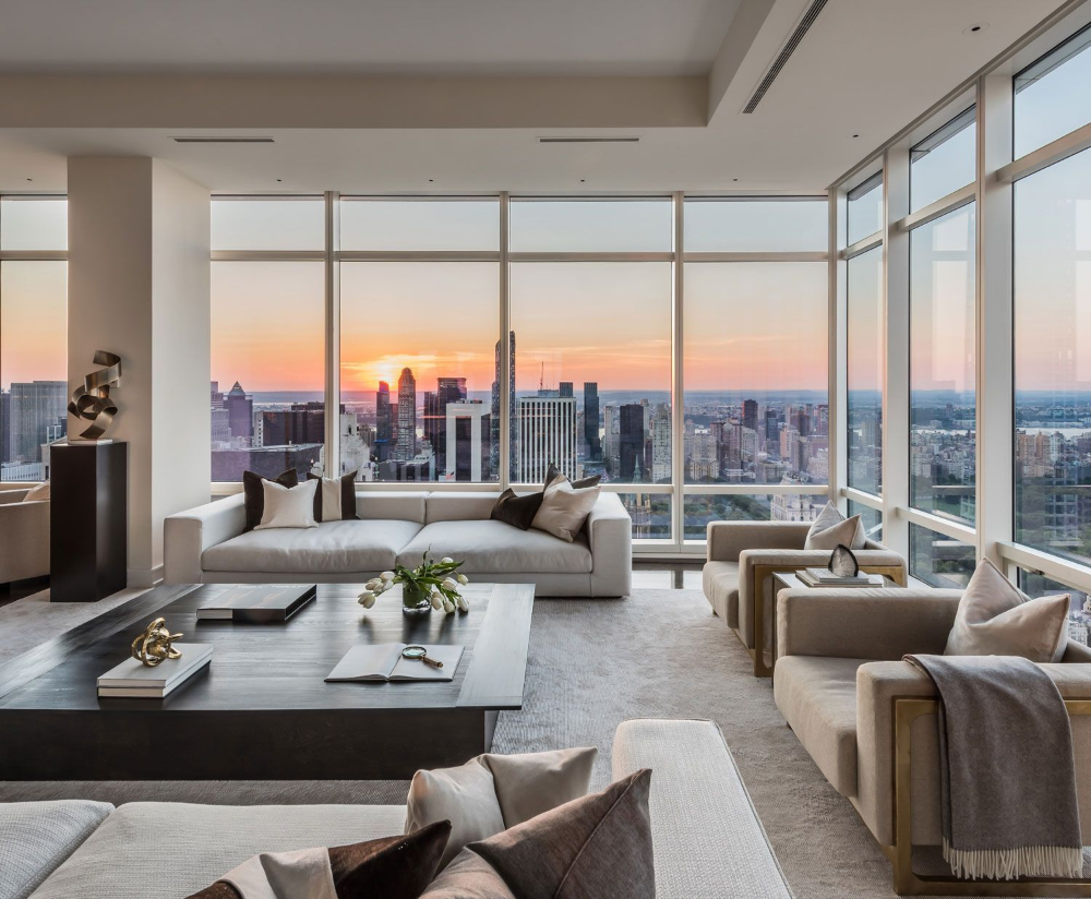 cozy high end nyc apartment with views - Google Search ...