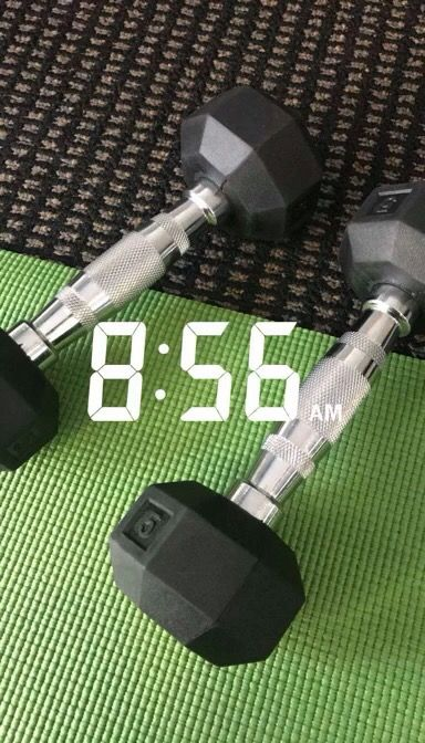Have to stay fit