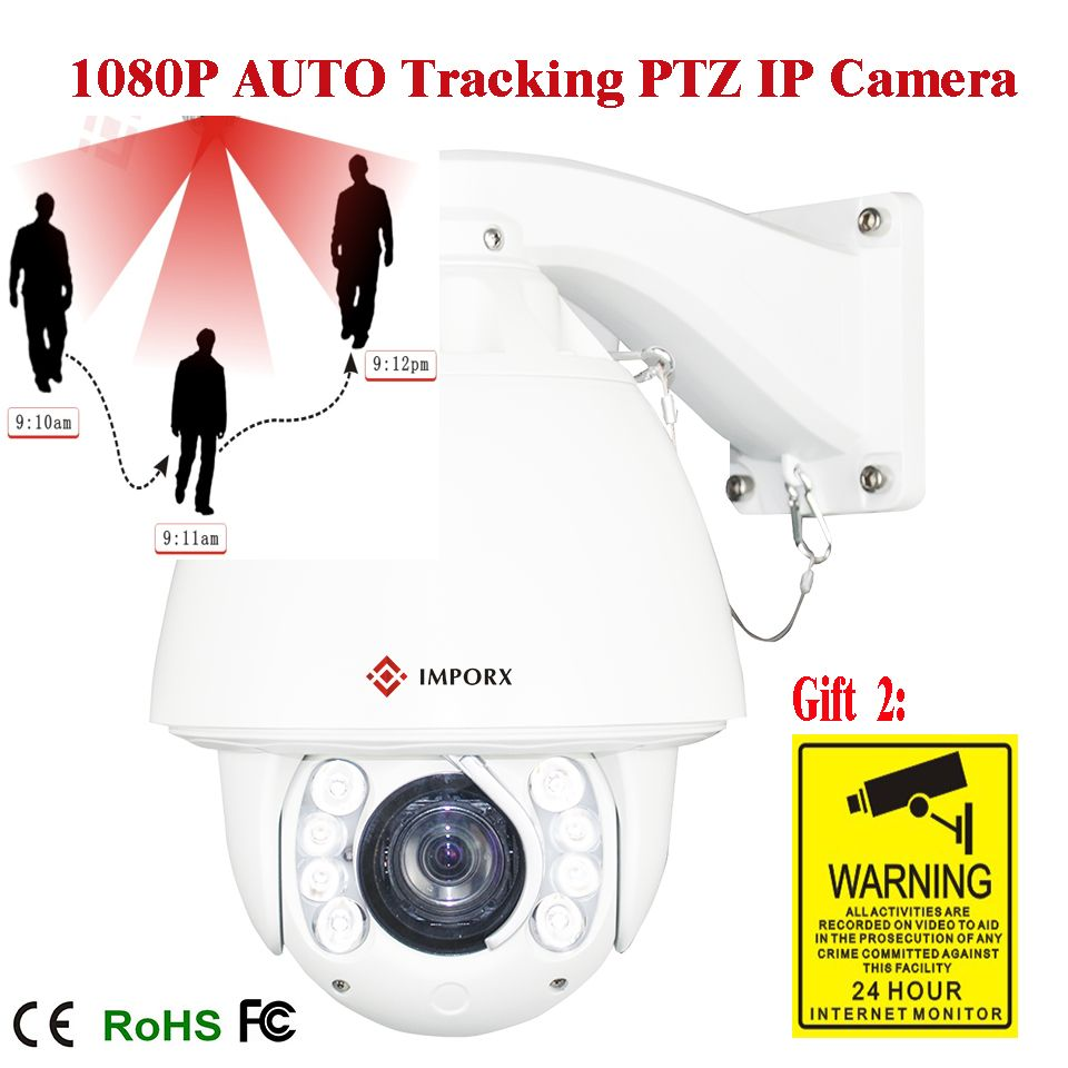 Cctv 1080p 2mp 20x Zoom Optical Ptz Ip Camera Motion Detection Camera In High Speed With150m Night View Onvif Network Ip Camera Ptz Camera Camera Ip Camera