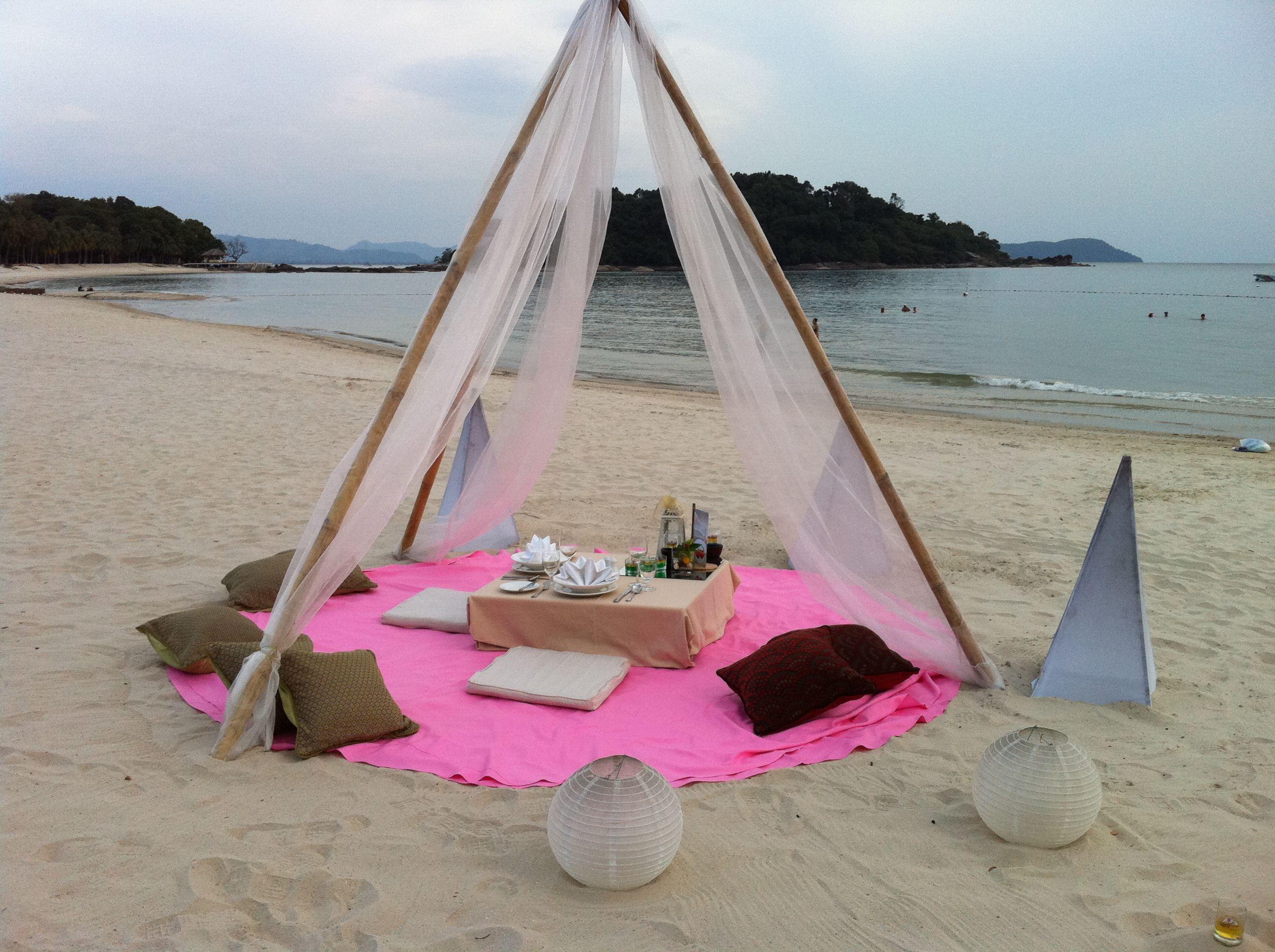 Azie, heerlijk relaxen op het strand!