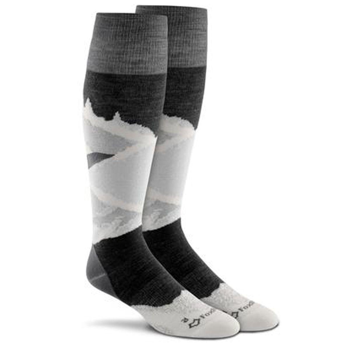 Fox River Prima Lift Socks Medium Black Socks Ski Socks Fox River Socks