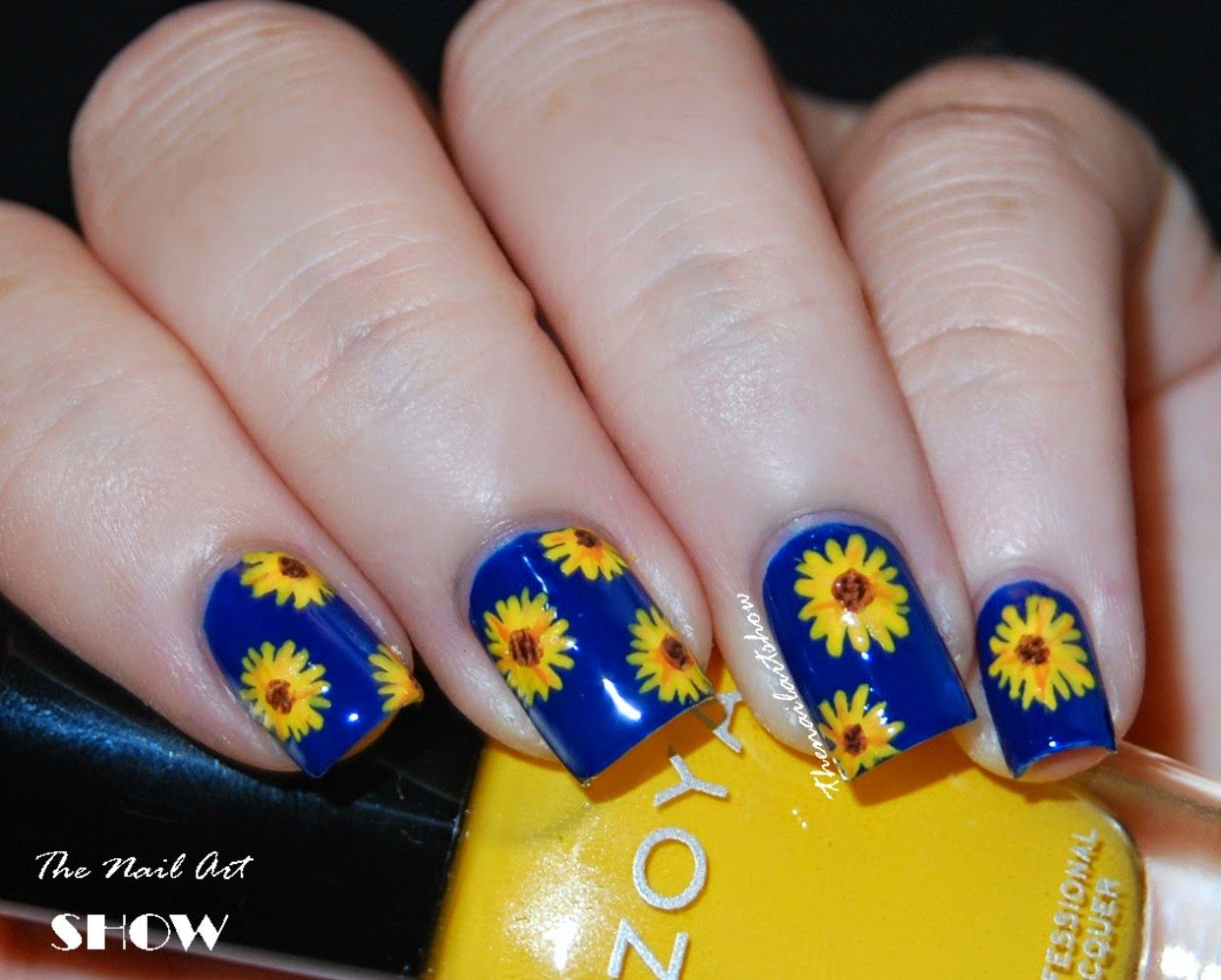 The Nail Art Show Flowers Of Sun