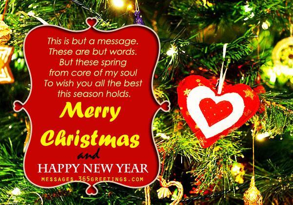 christmas words Google Search Christmas messages