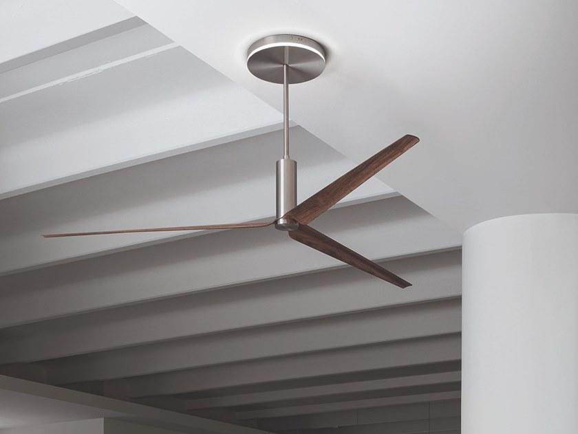 Ceiling Fan Arc 03 Ariachiara Collection By Ceadesign Design Natalino Malasorti Ceiling Fan Design Ceiling Fan Diffused Light