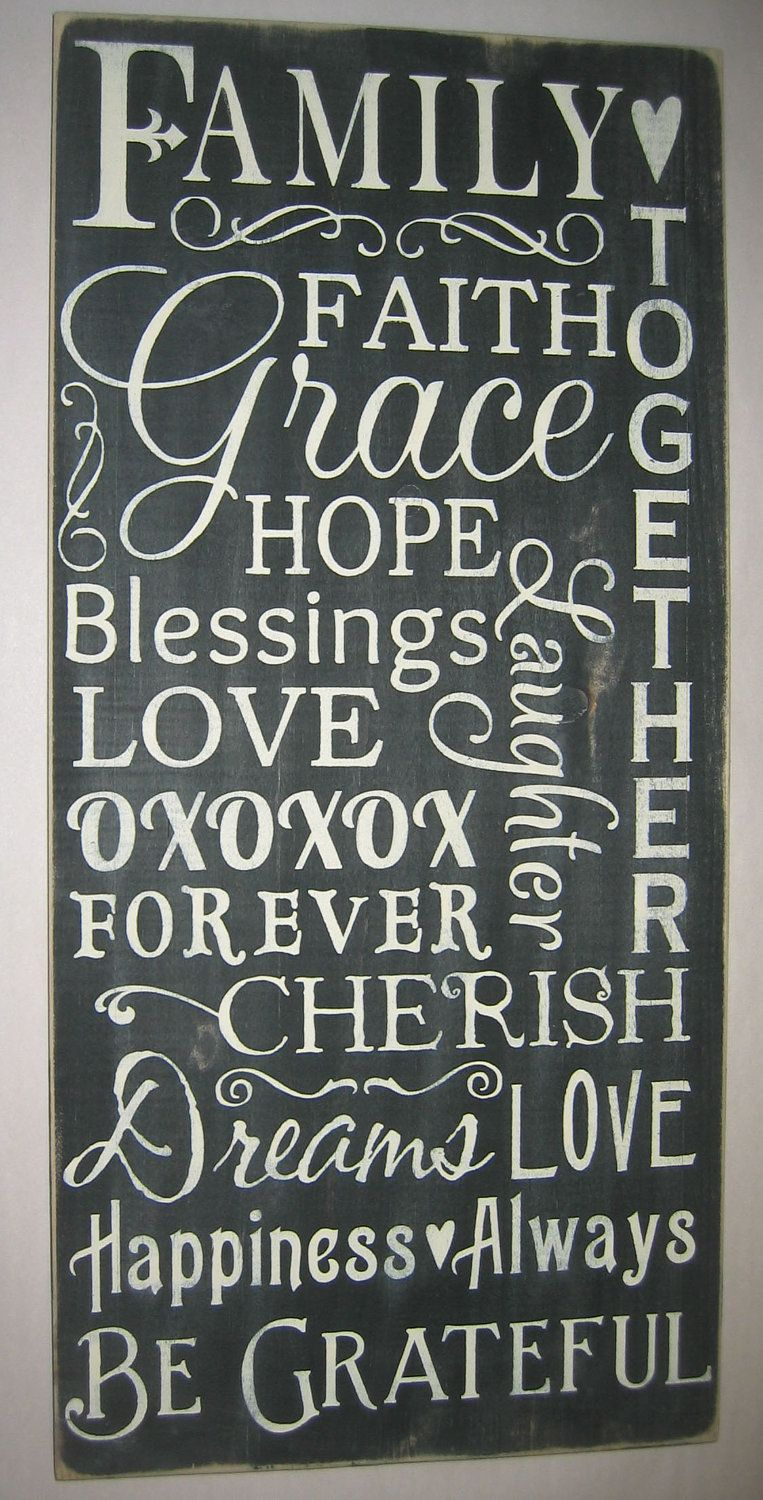 Love Decor Signs Simple Family Faith Love Decor Primitive Typography Word Art Wall Decorating Design