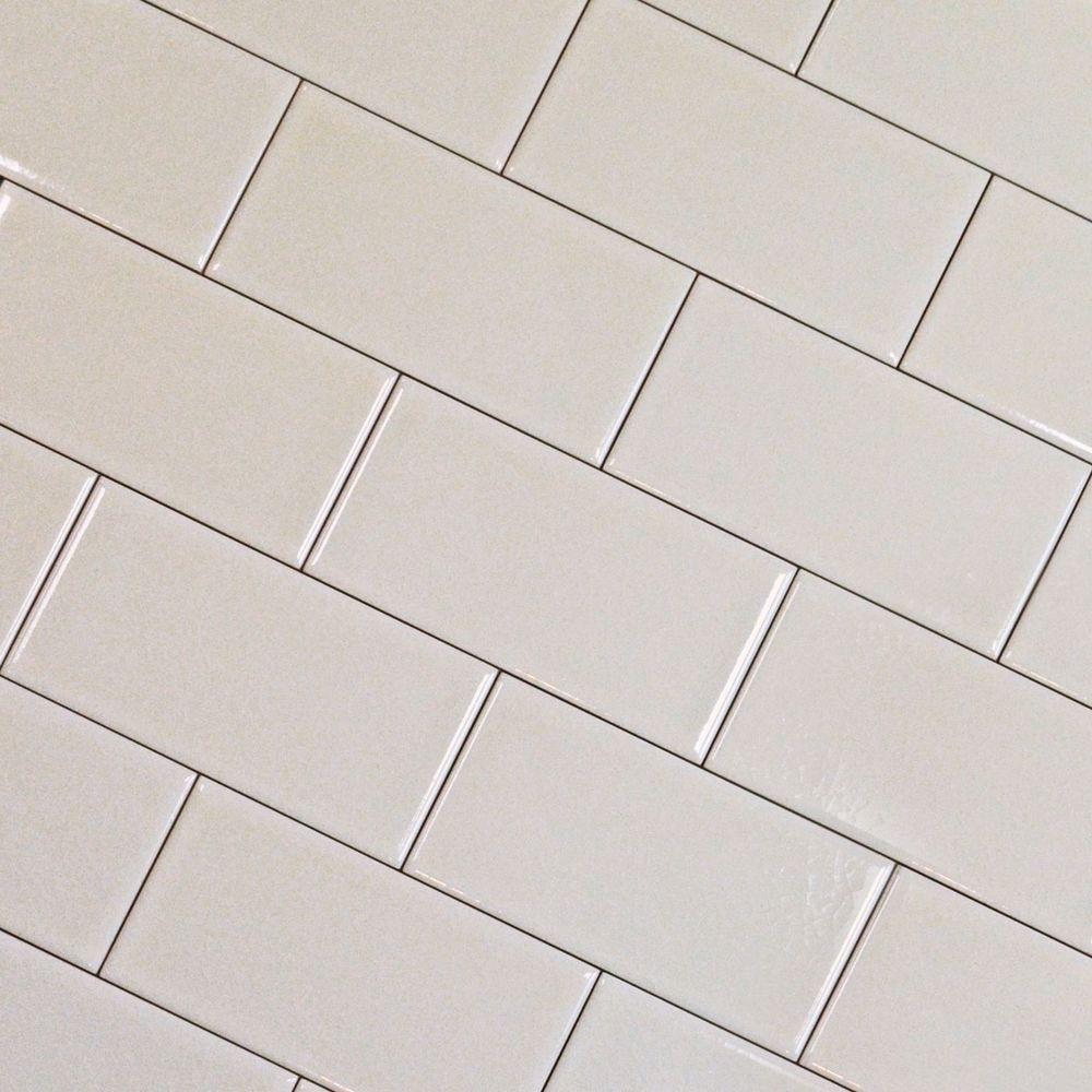 Victorian Style Retro Metro Craquele Crackle Glaze 75x150 Brick Wall Tiles White Wall Tiles Brick Wall Tiles