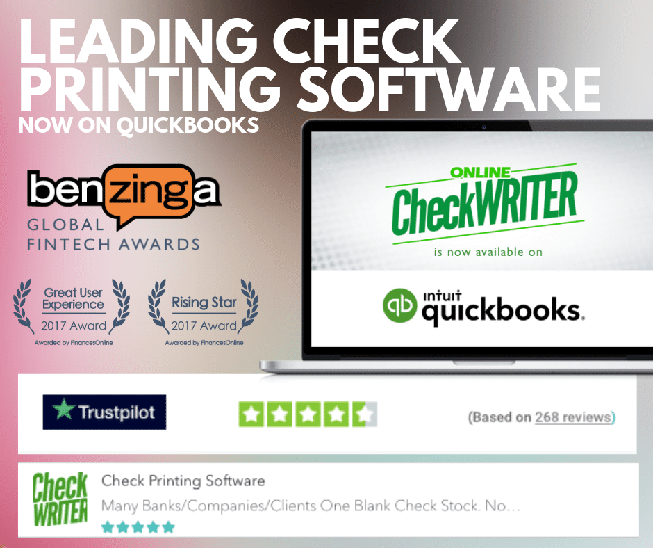 Check Printing Software Diy Or Quickbooks Used By Fortune 500 Printing Software Online Checks Writing Software