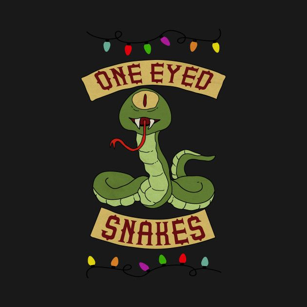 Bobs Burgers One Eyed Snakes Ugly Christmas Sweater Its