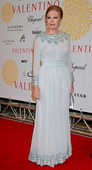 Farah Pahlavi Photo - Valentino 45th Anniversary Celebration - Gala Arrivals