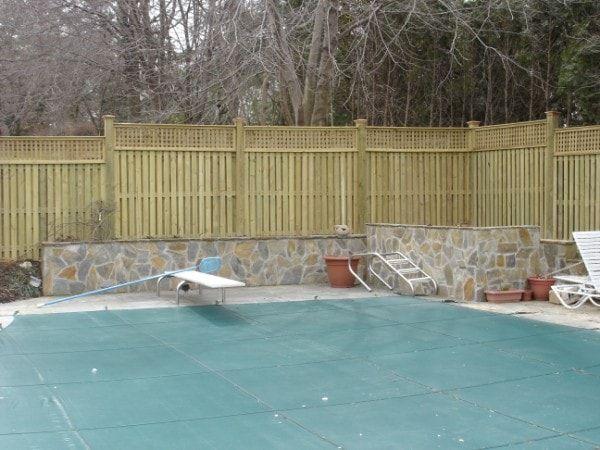 Baltimore Residential Custom Wood Fences Hercules Fence