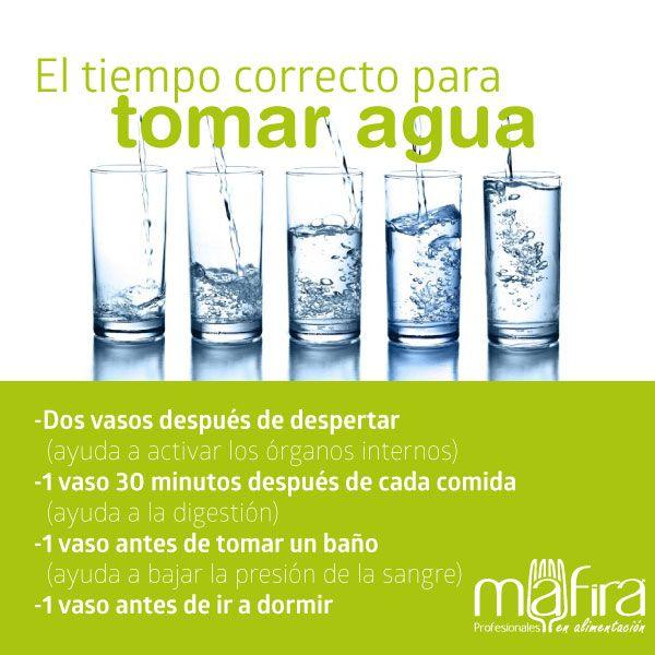 Cuantos vasos de agua tomar al dia para adelgazar