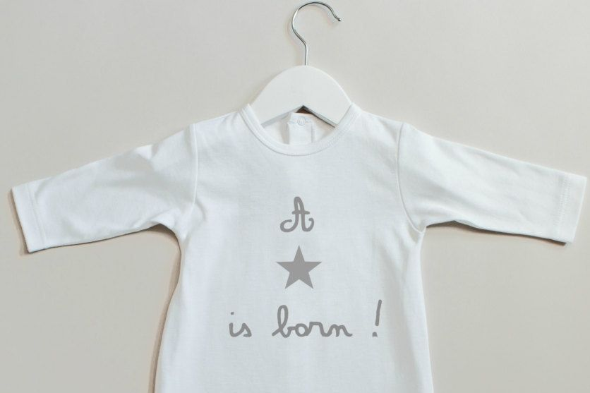 41d4846d3e6 Baby Personalized Playsuit footed