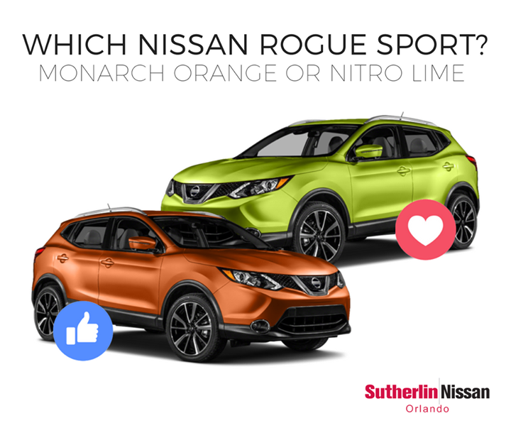 Which color would you choose? Rogue Nissan rogue