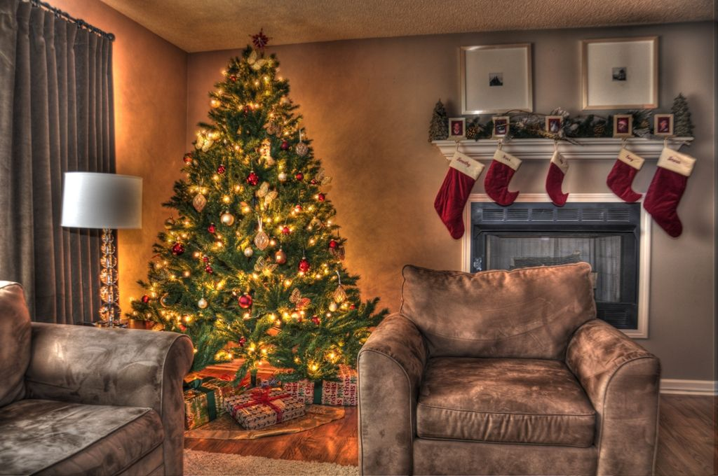 Pin On Interior Design Ideas Decor Living room christmas decorations 2021