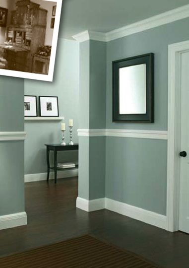 Historic Inspired Moulding Home Living Room Paint Interior