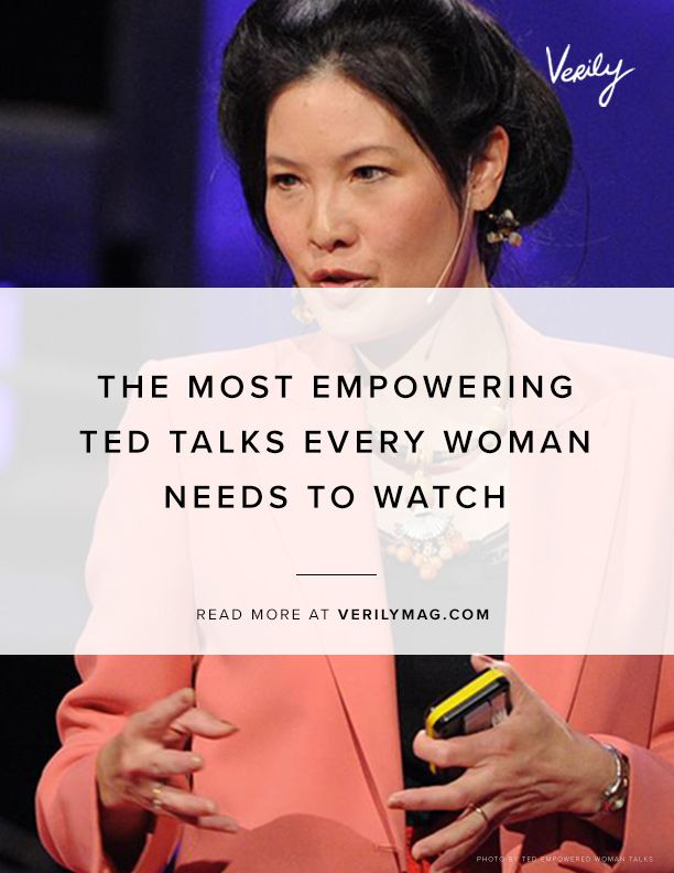 The Most Empowering Ted Talks Every Woman Needs To Watch With