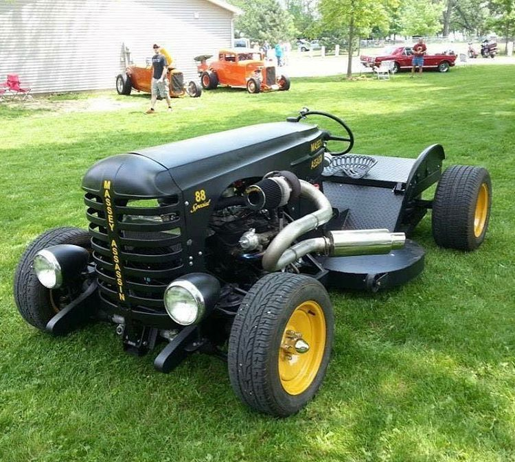 600 Hp Twin Turbo Lawn Mower Lol That S Insane Cool