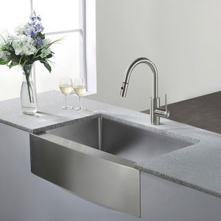 Stainless Steel 30 Inch Farmhouse Apron Sink Farmhouse And Apron Stainless Steel Modern Farmhouse Kitchens Farmhouse Sink Kitchen New Kitchen