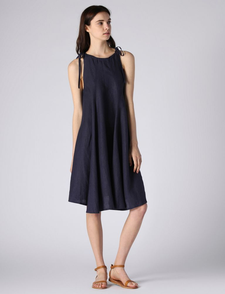 Denis Colomb Linen Mohea Dress | Huzza