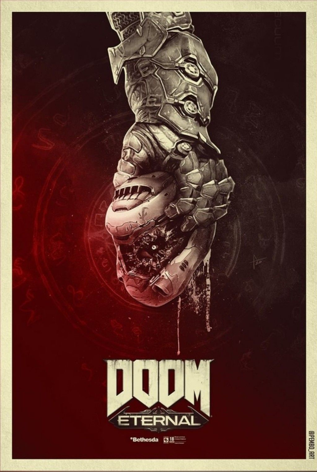 Doom Ultimate Gaming Prints Wall Art Gift Idea Gamers Art Poster A5 A4 A3 A2 A1