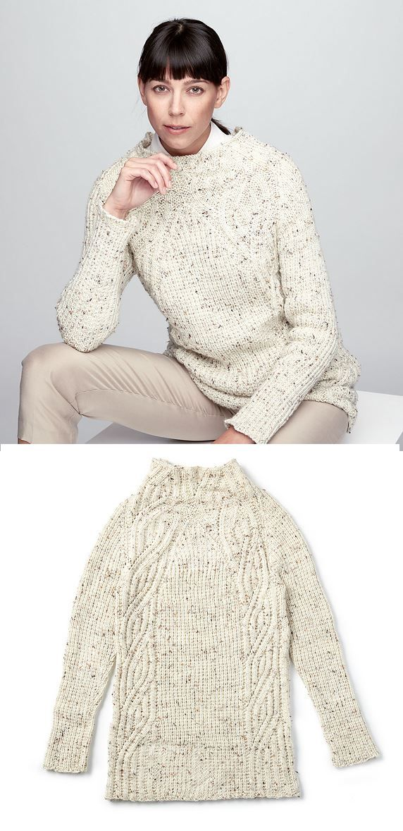 Free Knitting Pattern For A Textured Shift Sweater