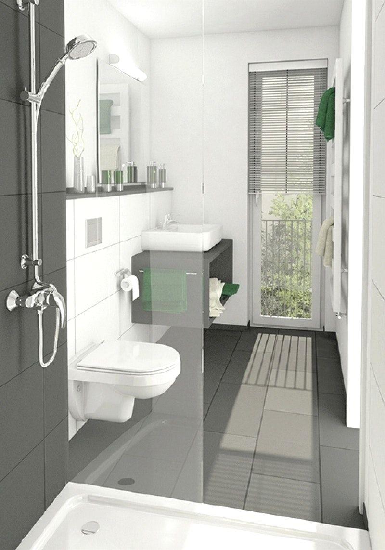 moderne badezimmer klein  Idea  Badezimmer klein Badezimmer und Bad