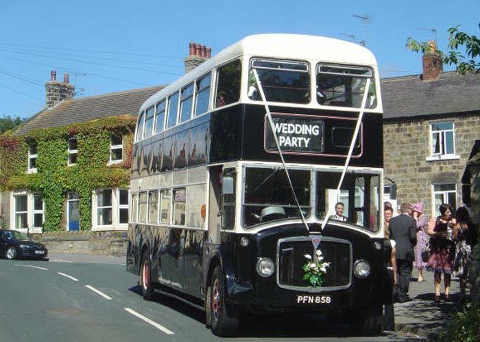 Vintage Double Decker Bus Hire Alt To Wedding Limo