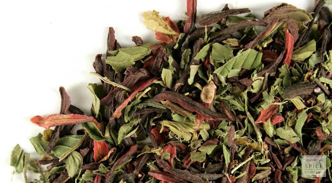Hibiscus+Mint+Tea