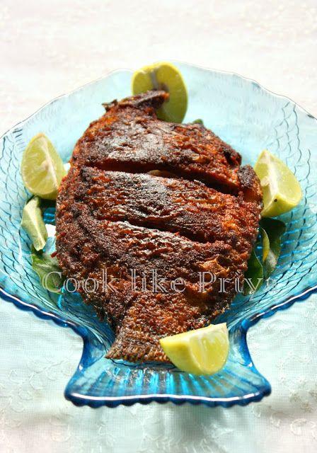 Karimeen fry south indian fish fry recipe foods soups drinks karimeen fry south indian fish fry recipe forumfinder Choice Image