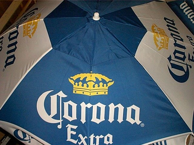 Corona Extra Beer Logo 6 Ft Large Beach Umbrella New