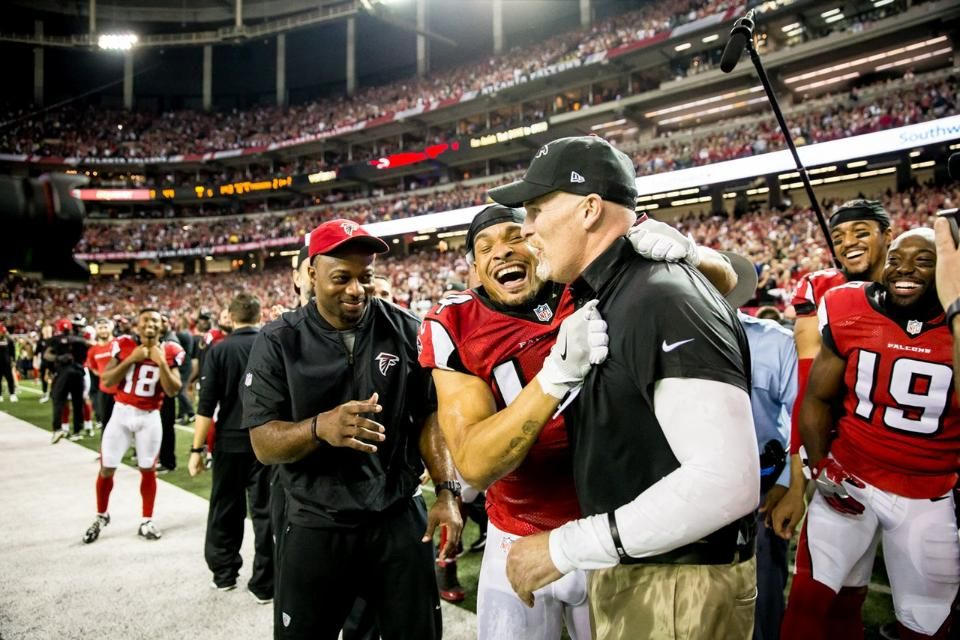 Falcons Win Nfc Championship Against Packers In 2020 Falcons Nfc Packers