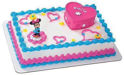 MinnieMouseKeepsakeBoxCakeKitPartyDecor Disney Pinterest