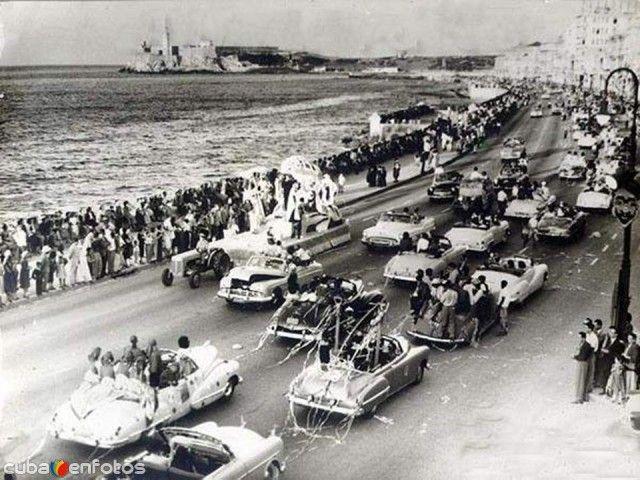 Fotos de La Habana, La Habana, Cuba: Carnaval de La Habana (1950)