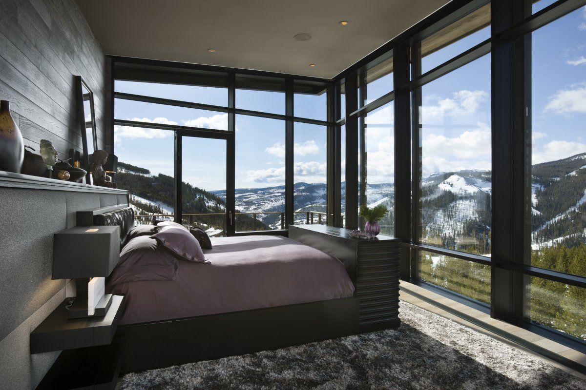 High Quality Der Blick Auf Die Berge: Innenbereich Dieses Schönen Hauses  Ahmt Die Berge  